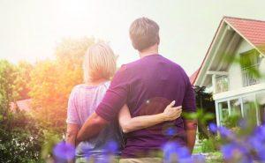 Haus und Wohnung nach der Trennung