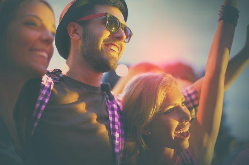 Fünf Musikfestivals in direkter Nähe